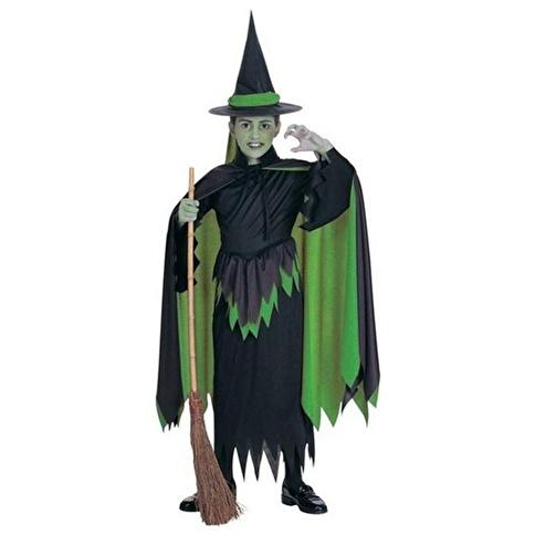Rubies Kötü Cadı Çocuk Kostüm 8-10 Yaş Renkli
